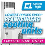 Lowest prices ever on Pfannenberg cooling units