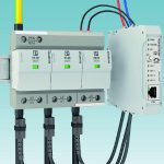 Intelligent monitoring system for surge protection